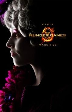 Elizabeth Banks plays the role of Effie Trinket in the new movie, The Hunger Games.