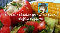 The Kitchen Witch: Chipotle Chicken and White Bean Stuffed Peppers ...