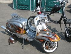Just love this old Lambretta