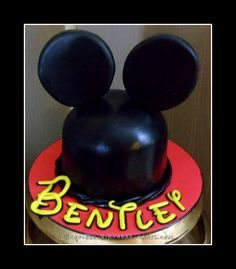 1st Birthday Mickey Mouse Smash Cake... Coolest Birthday Cake Ideas
