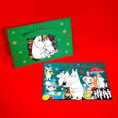 学研ステイフル ムーミン クリスマスポストカード