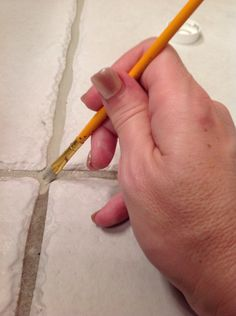 How to Paint Dirty Grout or Change the Grout Color
