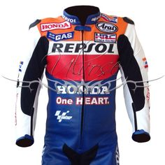 Honda Repsol Professional Racing Leather Suit.