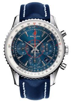 Breitling Montbrillant 01 Blue
