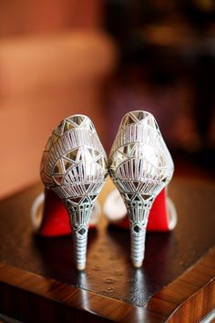 bab6f0d745f  Click on the photo to book your wedding photographer  Indian Wedding Bride  Shoes Ideas