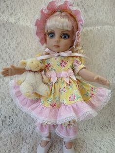 """10"""" little Patsy doll made by RRS"""