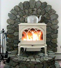 I have the wood stove, now just need the hearth..love this one