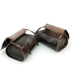 De Bruir bags by craftsman Garvan de Bruir are handmade in Ireland using old school techniques.