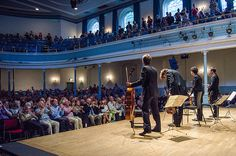 The Queen's Hall. The Queen's Hall offers a wide range of events to tempt you all year around - classical, jazz, blues, pop, rock, world, folk and comedy and is also home to the Royal Scottish Chambers Orchestra.