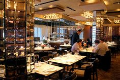If this year's turkey prices didn't discourage you, then maybe you should check out the chef's table at Café Gray in the Time Warner building. Traditionally, Thanksgiving Dinner at their chef's table runs $10,000 for 12 seats. That's around $833 a head. It's the most expensive Thanksgiving dinner in New York City and possibly even the most expensive in the nation.  http://www.cafegray.com/pdf/Thanksgiving@cafegray.pdf