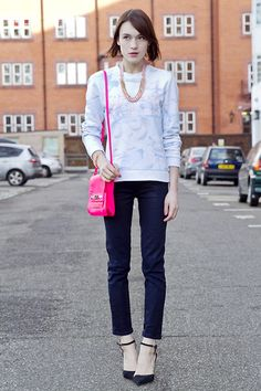 Kenzo Jumper, Juicy Couture Jeans, Guess? Bag, Cadenzza Jewellery, Sophia Webster Shoes
