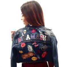 Muito amor pela minha jaqueta personalizada para o #SPFW by #degrant_dgn