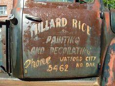 Photo Gallery: Door Art and Lettering