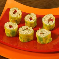 Cooking With Kids    Crisp Rice Cereal Sushi   MyRecipes.com