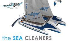 Ensemble, nettoyons les océans avec le 1er voilier océanique récupérateur de déchets plastiques.