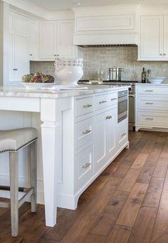 lovely white kitchen | My Future House | Pinterest | Kitchens, House ...