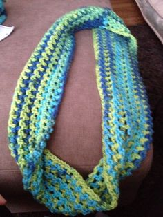 Adult infinity scarf!