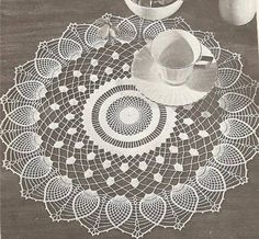 Home Decor Crochet Patterns Part 12 - Beautiful Crochet Patterns and Knitting Patterns Crochet Mandala, Crochet Art, Crochet Home, Crochet Motif, Crochet Doilies, Easter Crochet Patterns, Vintage Crochet Patterns, Crochet Stitches Patterns, Knitting Patterns