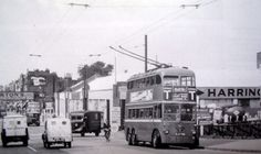 Trolleybuses and Buses serving Tottenham London Bus, Old London, London Street, North London, East London, Old Bangers, Finsbury Park, Double Decker Bus, London History