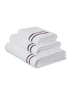 Weft Insert Dark Grey Towel Range