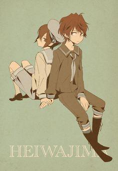 The Heiwajima brothers Kasuka and Shizuo
