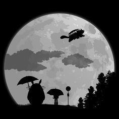 Moon Light Stop. Totoro