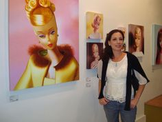 Barbie Artist, Judy Ragagli- Fullerton, CA
