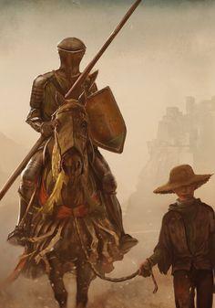 The Mystery Knight by GRR Martin by MarcSimonetti.deviantart.com on @deviantART
