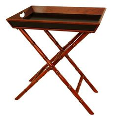 I pinned this 2 Piece Juba Tray & Stand Set from the Out of Africa event at Joss and Main!