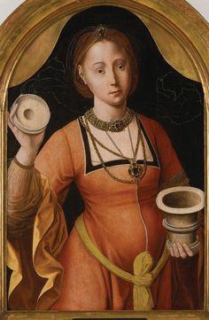 Santa María Magdalena. Maestro de la Magdalena Mansi (1525)