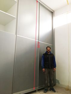 Wardrobe with large dimensions - produced by MITSAKOSGLASS
