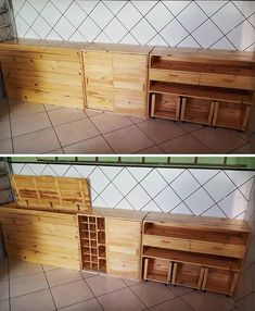 The easiest way of maximizing your storage is now possible with Low-Cost Wood Pallet, which helps us to increase the available space with simple and … Pallet Side Table, Wood Pallet Tables, Pallet Wall Decor, Pallet Walls, Wood Pallet Furniture, Old Pallets, Recycled Pallets, Wooden Pallets, Diy Pallet Projects