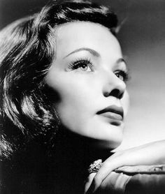 Gene Tierney...Beautiful actress, end of her life ,,,electro shock treatments :(
