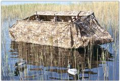 duck blinds | When considering a duck boat blind purchase, choosing a blind that is ...