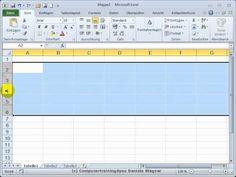 Excel Einstieg 13 Tipps zu Zeilen