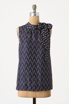 { Wrap Around Blouse by Portrait of a Girl, from Anthropologie [$98] }