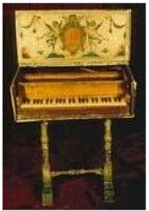 Early Harpsichord. Learn about your collectibles, antiques, valuables, and vintage items from licensed appraisers, auctioneers, and experts at BlueVault. Visit:  http://www.BlueVaultSecure.com/roadshow-events.php