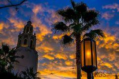 Sunset on Buena Vista Street