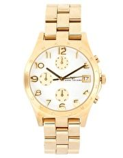 Marc By Marc Jacobs Gold Chronograph Bracelet Watch