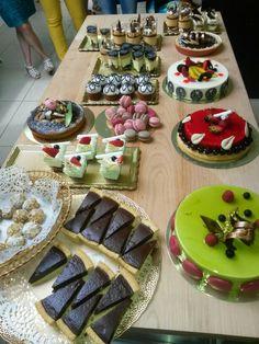 Сладкий стол Four Square, Party Time, Table Decorations, Food, Home Decor, Decoration Home, Room Decor, Essen, Meals