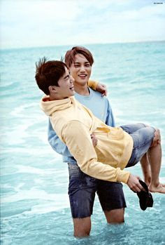 Kai, Suho - 160925 Second official photobook 'Dear Happiness' - [SCAN][HQ] Credit: 올리브.