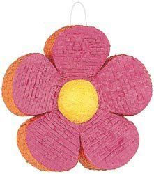 Unique Industries Pinata 18'X18' Flower; 4 Items/Order by Unique Industries, Inc.. $55.96. Made in China. Weight: .54 ounces. Dimensions: 18.1 in. H x 18.1 in. W x 4 in. D. UNIQUE INDUSTRIES-Pinata: Flower. These unique pinatas are perfect for every party! Use them as colorful decorations or play the traditional pinata game. This package includes one fill-able 18x18 inch flower pinata. Filler not included. Imported.