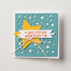 This cute little card was made with All Boxed Up!