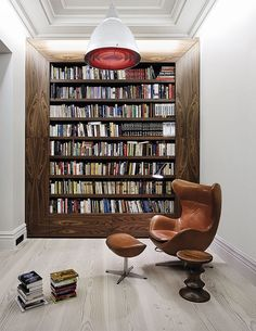 The best home library design ideas for your home, and how to organizing your home library furniture with top solutions, home libraries, home library organization images Home Library Design, House Design, Library Ideas, Library Organization, Design Case, Diy Design, Loft Design, Design Projects, Interior Architecture