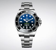 Rolex Sea-dweller Deepsea 116660 James Cameron Automatic Watch Box And Papers Rolex Watches For Men, Vintage Watches For Men, Seiko Watches, Luxury Watches For Men, Cool Watches, Dream Watches, Casual Watches, James Cameron, Rolex Deepsea