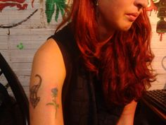 #Tattoo #rosa  #azul #tatuaje #blue #rose
