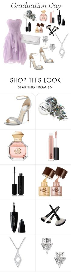 """Untitled #11"" by caralulu ❤ liked on Polyvore featuring René Caovilla, Tory Burch, MAC Cosmetics, Marc Jacobs, Maybelline, Yves Saint Laurent and Dorothy Perkins"