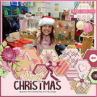 merry christmaseveryday hexagons - miss fish templates   christmas shimmer - neia scraps   http://store.gingerscraps.net/Everyday-Hexagon-Templates-byMissFish.html   http://store.gingerscraps.net/Christmas-Shimmer-KIT-By-Neia-Scraps.html