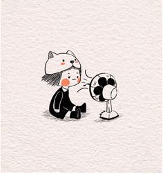 cute gif of a drawing Cartoon Gifs, Cute Cartoon Wallpapers, Cartoon Art, Gif Lindos, Dibujos Cute, Cute Gif, Cute Illustration, Aesthetic Art, Cute Stickers
