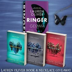 Lauren Oliver Books & Necklace Giveaway!